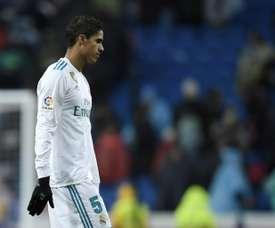 Varane pensa em deixar o Real Madrid. AFP