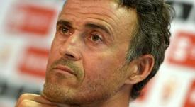 El técnico asturiano tomará el relevo de Hierro en el banquillo. AFP