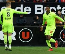 Leao intéresse Everton. AFP