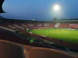 La Ligue des champions a réveillé le Marakana. AFP