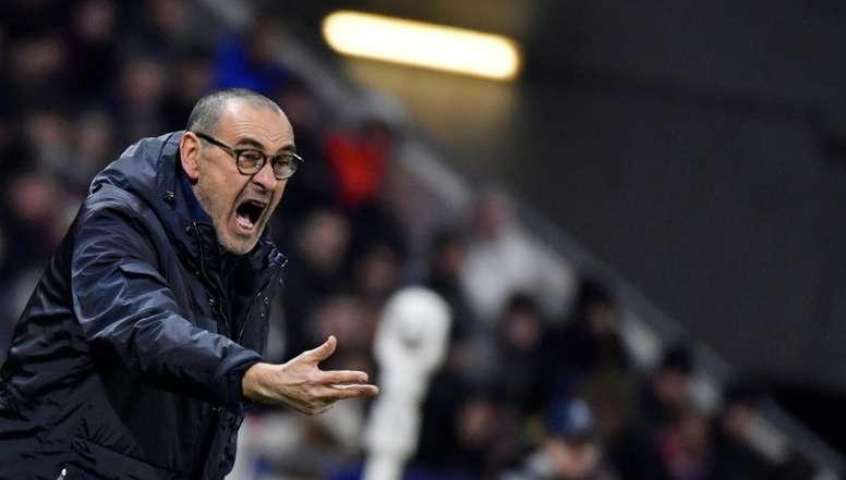Sarri verso l'addio alla Juventus. AFP