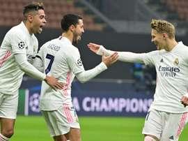 Le formazioni ufficiali di Real Madrid-Alaves. AFP