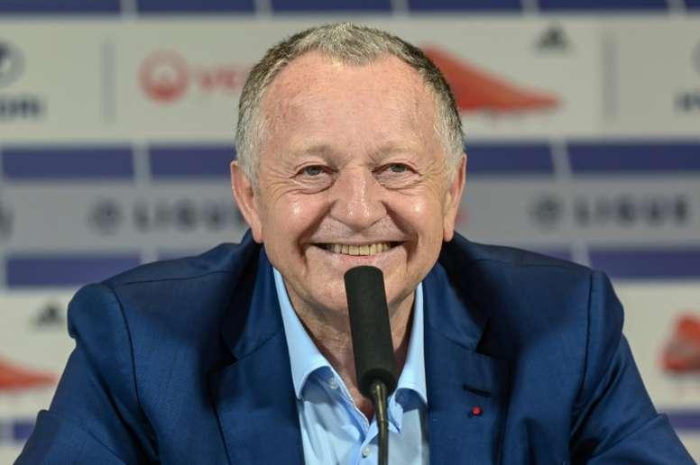 L'Olympique Lyonnais serait prêt à changer le naming de son stade. AFP