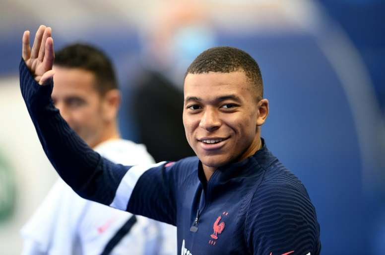 Mbappé wants to leave PSG in 2021. AFP