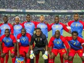 La RD Congo alignée contre la République centrafricaine au stade des Martyrs de Kinshasa. AFP