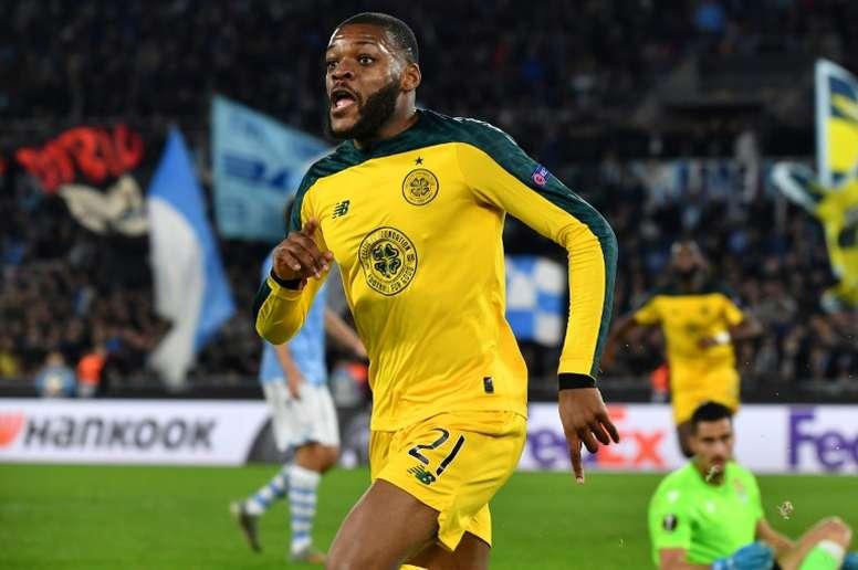 Celtic won 5-0. AFP