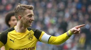 Reus firmó el segundo tanto. AFP
