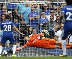 Chelsea s'est pris une claque. AFP