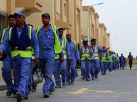 Les problèmes continuent au qatar. AFP