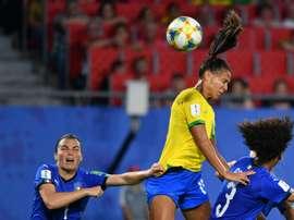 La France jouera contre le Brésil. AFP