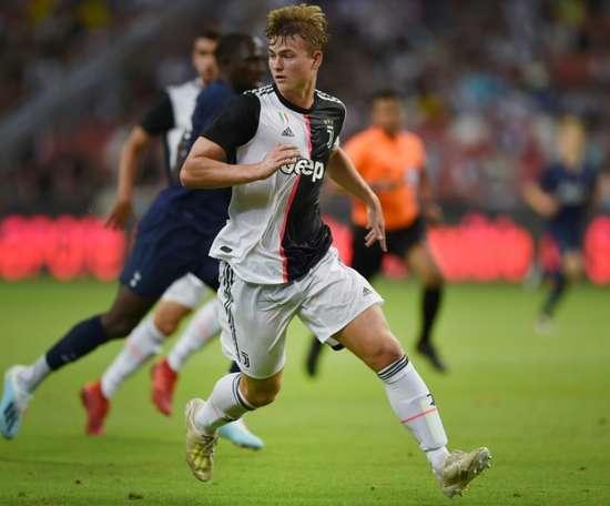 Matthijs de Ligt has scored plenty of goals for Juve this season. AFP