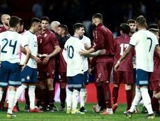 Leo Messi n'a pas suffi. AFP