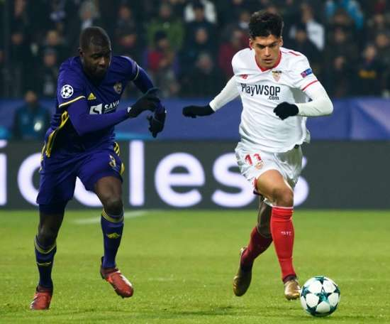 Sevilla confirmou apuramento. AFP