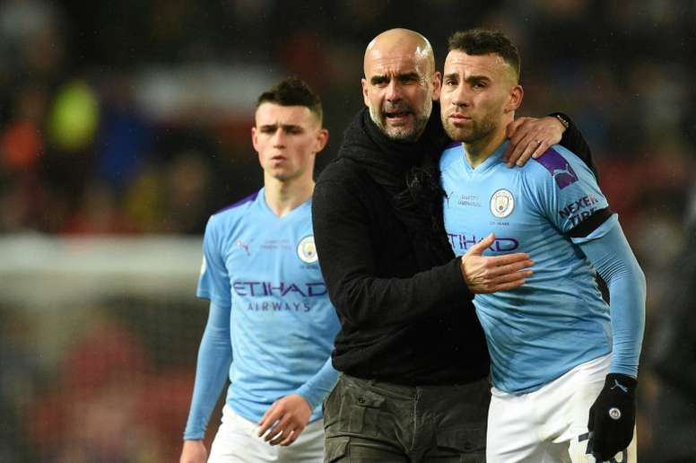 Otamendi could go to Inter. AFP