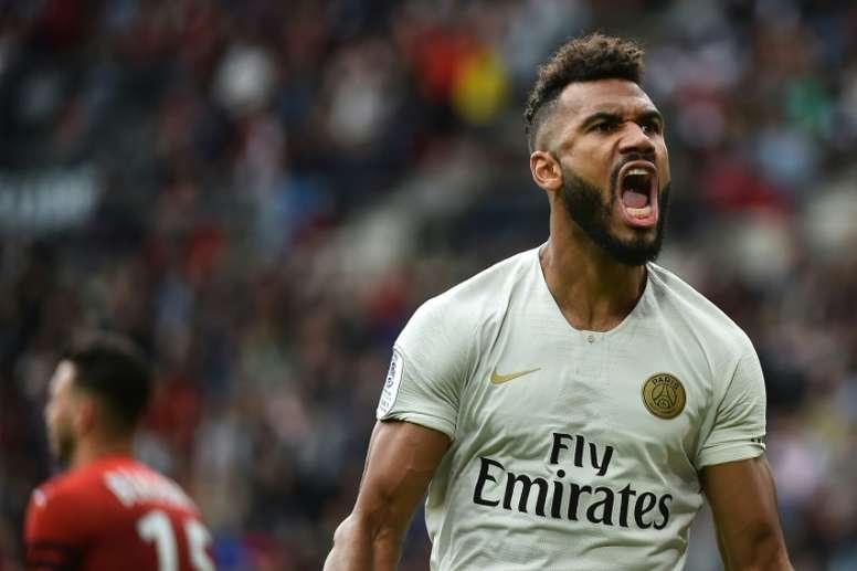 Le joueur parisien est maintenant capitaine en sélection. AFP