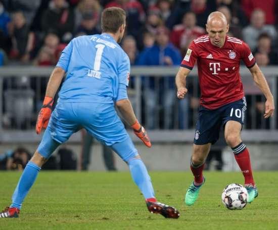 Le Bayern concède le nul contre Augsbourg. AFP