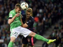 El duelo entre ambos conjunto se saldó con un empate a dos tantos. AFP