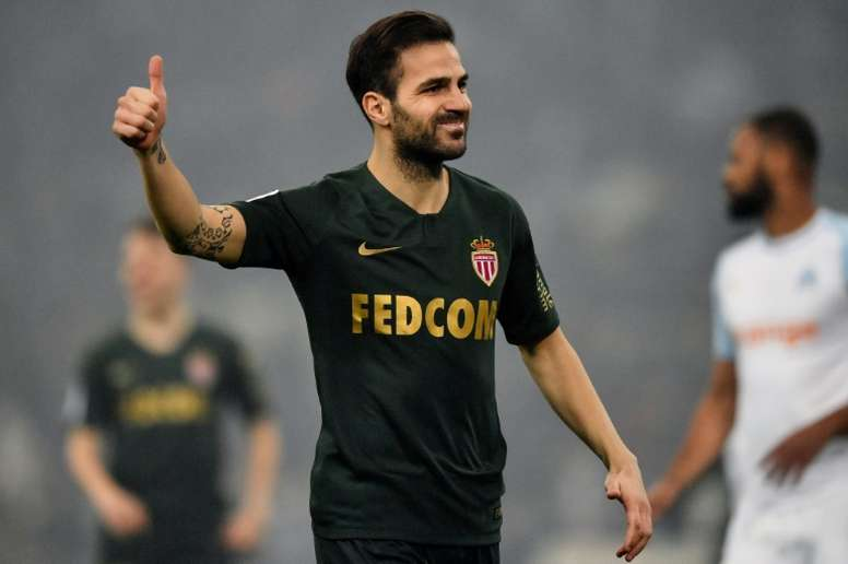 Cesc did not have a great performance in Monaco. AFP