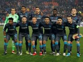Le club turc de Trabzonspor exclu des Coupes d'Europe. AFP