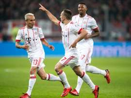 Franck Ribery wants Boateng to stay in Munich. AFP