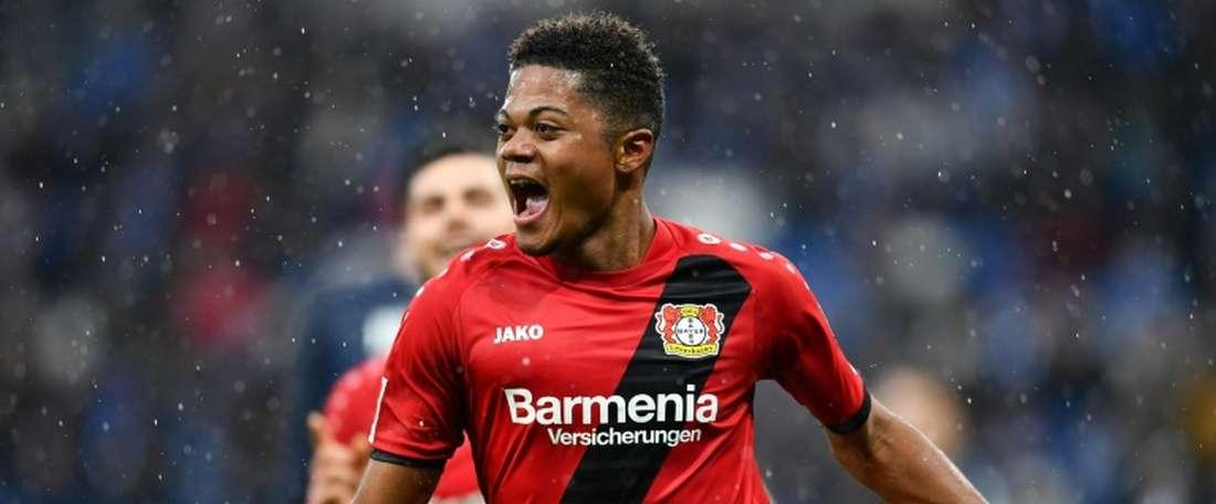 Bailey continua em grande forma na Bundesliga. AFP