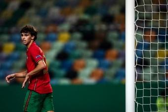 Joao Félix trabajará para llegar al inicio de la temporada 2021-22. AFP/Archivo
