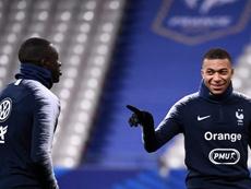 Les Bleus à deux doigts de toucher l'Euro-2020. AFP
