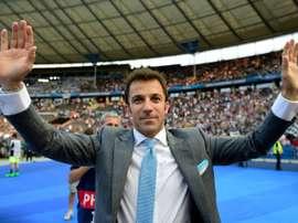 Del Piero a fait un bel éloge du joueur portugais. AFP