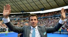Del Piero falou sobre o Real Madrid e Cristiano. AFP