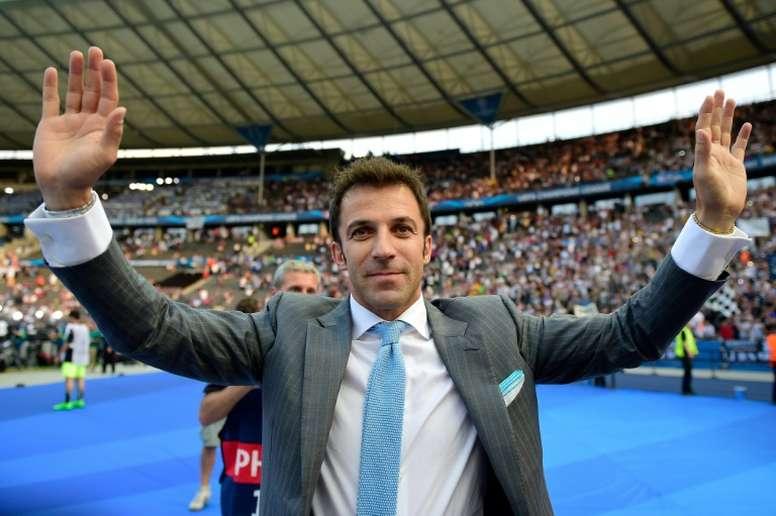 Del Piero dejó grandes elogios para Cristiano. AFP