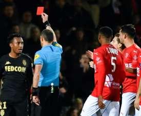 Gelson Martins finalement suspendu jusqu'à fin novembre. AFP