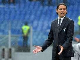 El equipo romano fue superado por el Milan. AFP