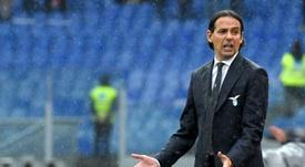 La Lazio cayó ante el Sevilla. AFP