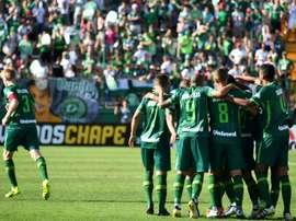 El conjunto brasileño empató el partido en el tramo final. AFP