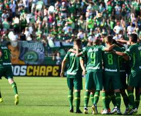 El conjunto brasileño venció por la mínima a Joinville. AFP