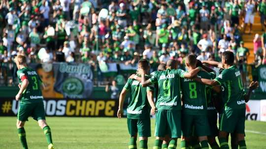 Chapecoense disputará un amistoso antes de la Libertadores. AFP