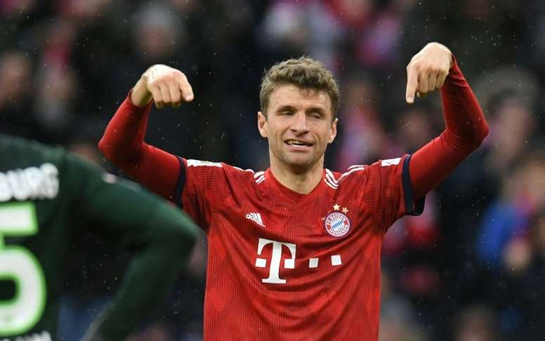 Müller pourrait quitter le Bayern et rejoindre United. AFP