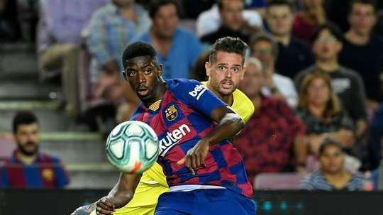 Manchester United veut faire ses courses au Barça. AFP