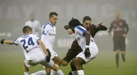 El Inter quiere fichar a tres jóvenes del Atalanta. AFP