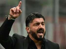 Gattuso é o novo técnico do Napoli. AFP