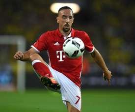 Ribery es el segundo máximo asistente de Europa. AFP