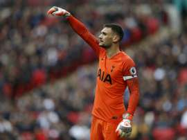 Lloris silenced his critics with the saves. AFP