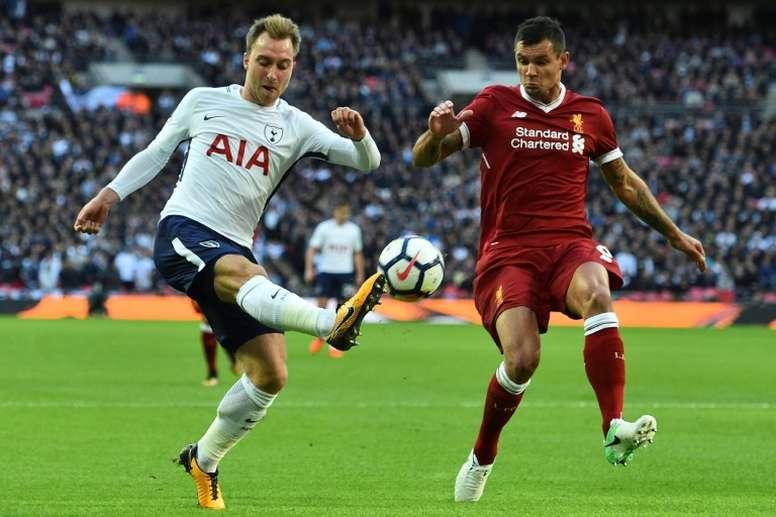 Liverpool reçoit Tottenham. AFP