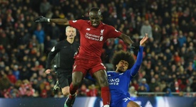 Mane is apparently sought after by Real Madrid. AFP