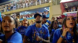 Le Carnaval, une source de distraction pour Neymar. AFP