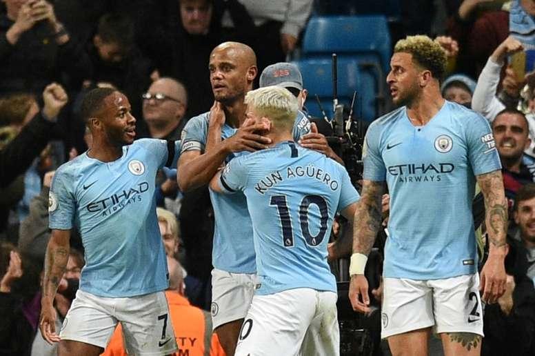 O City poderá ficar de fora da próxima Champions League. AFP