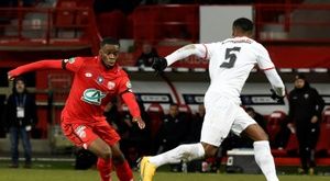 Dijon v Nimes has been cancelled. AFP