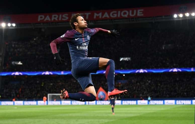 Será la primera vez que Ney pise el Bernabéu sin vestir de azulgrana. AFP