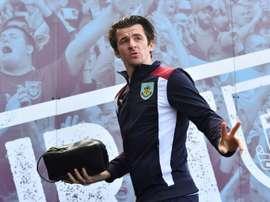 Barton, entraîneur. AFP