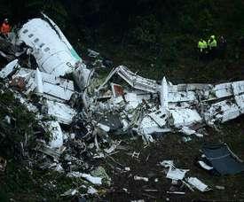 Le manque de carburant a causé l'accident. AFP